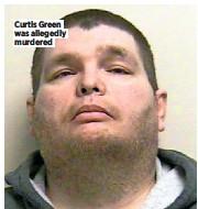 ??  ?? Curtis Green was allegedly murdered