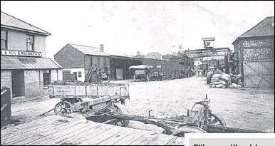 ??  ?? Invicta works in St Peter's Street around 1905; and below, a Jesse Ellis steam engine from the same time
