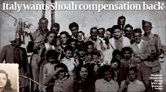 ??  ?? This photo: Libyan Jews during WW2. Left: Messauda Fadlun