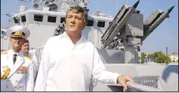 ?? ASSOCIATED PRESS ?? Ukrainian President Viktor Yushchenko said last year that the current lease agreement with Russia on the Black Sea Fleet's presence in Crimea will not be extended. It is set to expire in 2017.