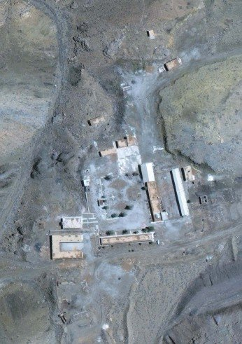 ?? AP ?? The Abadeh site, claimed to be where an expert worked on nuclear weapons, in March 2019