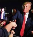?? Donald Trump a lancé, hier, sa campagne en Floride. (Photo AFP) ??