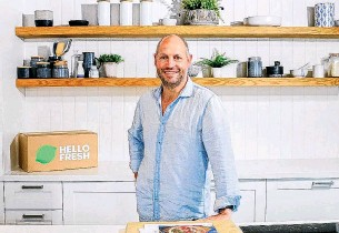 ?? PHOTO: SUPPLIED ?? Tom Rutledge, chief executive of HelloFresh in New Zealand and Australia, says the New Zealand market has proven to be a tremendous success.