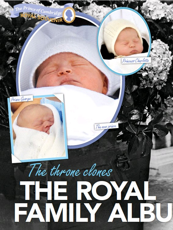 ??  ?? The new prince Princess Charlotte Prince George