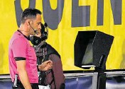 ?? PHOTOGRAPH: JOSE JORDAN/ AFP ?? VAR should only be used for the big decisions – ie ball over ■ the line or clear offside.