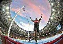 ??  ?? El atletismo tendrá una fiesta a partir de la próxima semana, pero Colombia, por el covid, no podrá tener a todos sus deportistas.EFE