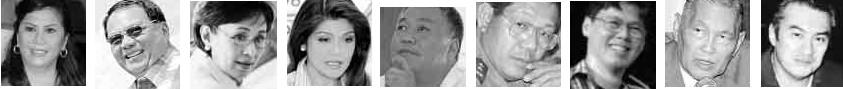 ??  ?? DE VENECIAEBDANESANTOS-RECTOIMEE MARCOSHILARIO DAVIDE IIILASTIMOSORAUL GONZALEZ JR.RAUL GONZALEZKEON
