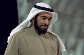 ??  ?? Altolà Tareq al Suwaedan, predicatore kuwaitiano invitato dall'associazio ne degli imam italiani
