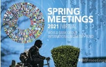 ?? Picture: Samuel Corum/Bloomberg ?? The IMF says the global economy is recovering faster than expected from the Covid-19 crisis, but warns that a spike in interest rates could be especially painful for emerging economies.