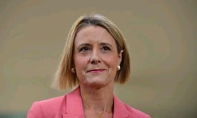 ?? Photograph: Mick Tsikas/AAP ?? Shadow minister for home affairs, Kristina Keneally, says Peter Dutton revoked the use of a government jet for a parliamentary committee to travel to Christmas Island to visit the Biloela family who are detained there.