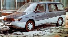 ??  ?? Москвич-2139 Арбат – не самый красивый, но один из самых оригинальных концепт-каров АЗЛК. Концептуальный ВАЗ-1151 Гном создали на узлах и агрегатах Оки ВАЗ-1113.