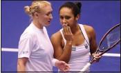 ??  ?? LOST FRIEND: Watson is using the tragic death of Elena Baltacha (left) as inspiration
