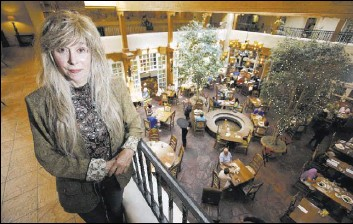 ?? LUIS SANCHEZ SATURNO/SANTA FE NEW MEXICAN VIA AP ?? Gale Cooper, who closed her Beverly Hills psychiatry practice in the late 1990s, moved to New Mexico to write a novel based on the life of Billy the Kid. She is now fighting a legal battle over the state's public records law.