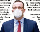 ?? F.: GETTY ?? Gesundheitsminister Jens Spahn (CDU): Sein Ministerium teilt die Bedenken nicht.