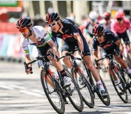 ??  ?? Ineos were by far the dominant team in the overall at Volta a Catalunya