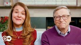 ??  ?? Melinda Gates and Bill Gates speak during 'One World: Together At Home' in April 2020