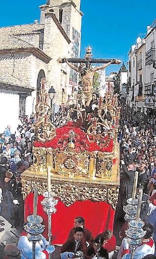 ?? // MANUEL MIRÓ ?? Procesión del Cristo de la Clemencia en la procesión de Jaén