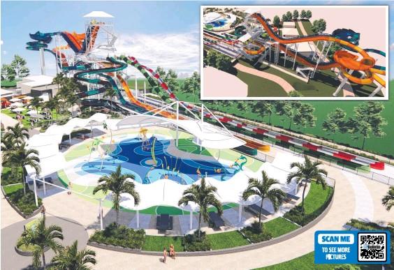 ??  ?? Village Roadshow Theme Parks is building Australia's tallest water slide at Wet'n'Wild on the Gold Coast; (below) Bikash Randhawa.