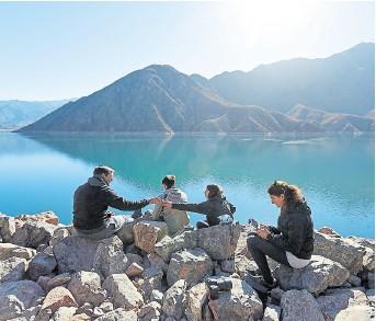 ?? Marcelo aguilar ?? En Mendoza, la gran apuesta del turismo es la alta montaña