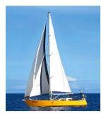 ??  ?? Kila Zamana and Paul Motawa sailed Malaika from southern Portugal to the Azores last summer