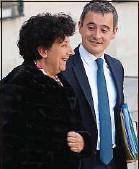 ??  ?? Les ministres Frédérique Vidal et Gérald Darmanin, en 2019.
