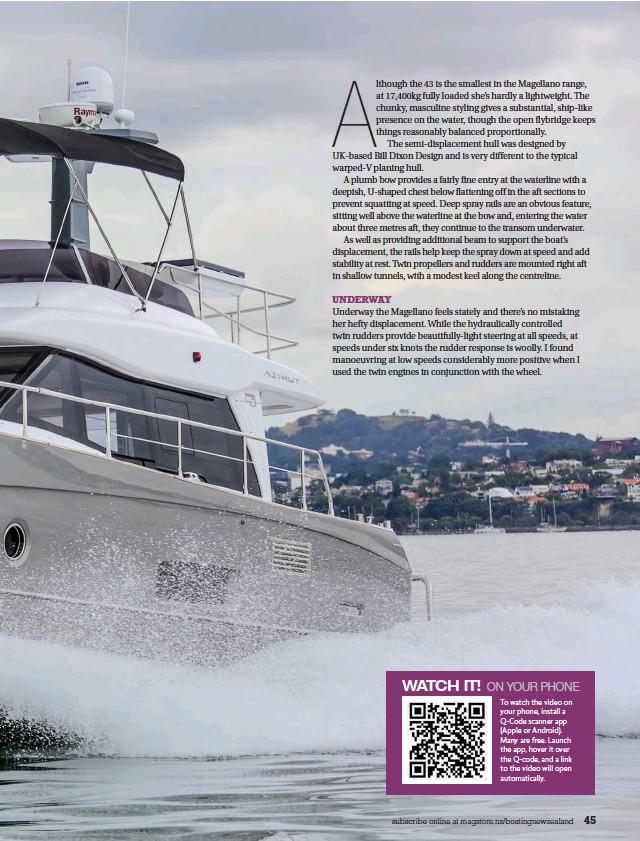 PressReader - Boating NZ: 2017-04-01 - SPEEDY MISTRESS