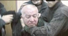 ?? REUTERS PIC ?? An old video grab showing Sergei Skripal being detained by Russian agents.