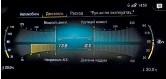??  ?? На центральный экран можно вывести целый сонм данных, включая схему с полной раскладкой текущих характеристик силового агрегата.