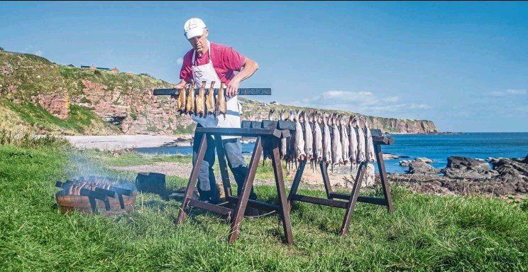 ?? — Photos: dpa ?? Smoked haddock is popular in Scotland and beyond. Arbroath smokie, named after a fishing town on the eastern coast, is a salted, hardwood-smoked haddock with intense flavour that tastes best eaten warm.
