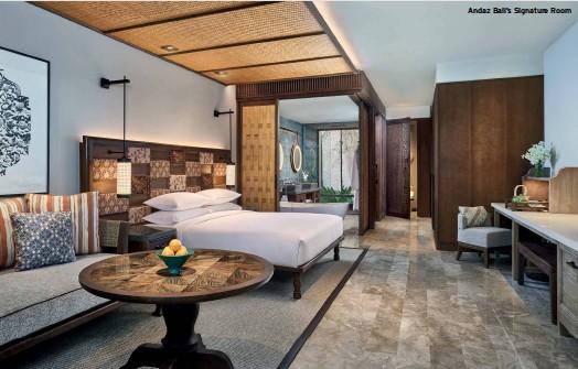 ??  ?? Andaz Bali's Signature Room