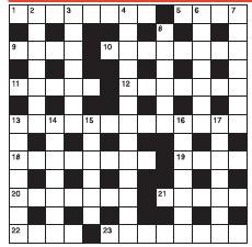 vagrant crossword clue