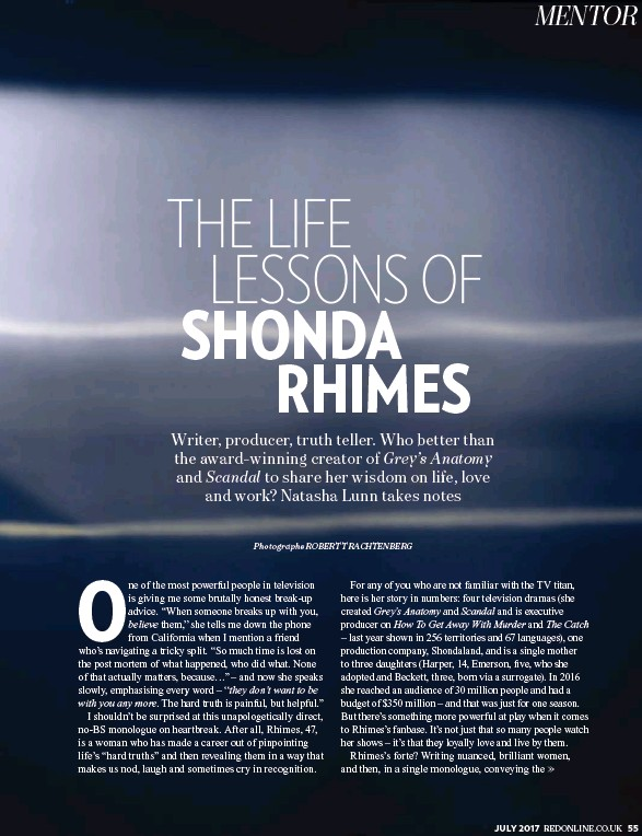 Pressreader Red 2017 07 01 The Life Lessons Of Shonda Rhimes