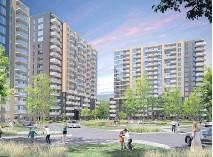 ??  ?? Cité Signature, the fourth phase of the Cité l'Acadie project in the Ahuntsic-Cartierville borough.