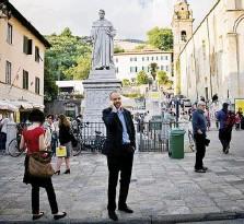 ?? LaPresse ?? Torinese Alessandro Perissinotto, secondo allo Strega nel 2013