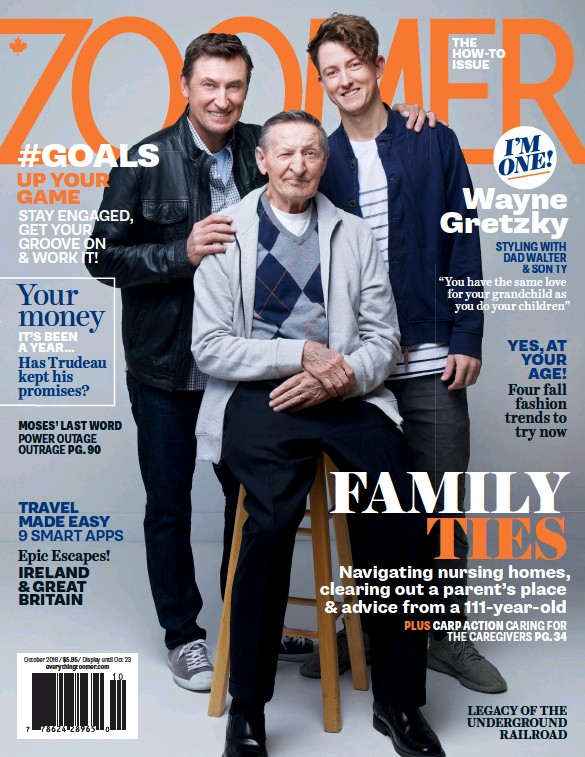 Image result for zoomer magazine gretzky