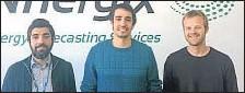 ??  ?? Joan M. Anglès, Ramon Molera y Jordi Vidal de Llobatera