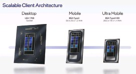 ?? ?? Intel's Alder Lake chips will be manufactured for three different classes of PCS.