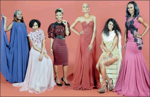 ??  ?? THE DIVAS: Kgomotso Machete, Blue Mbombo, Thandeka Nhleko, Kia Ntshole, Felicia Modise and Promise Zondo.