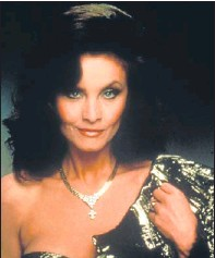 """??  ?? Kate O'Mara as Cassandra """"Caress"""" Morrell in Dynasty and with Eric Morecambe and Ernie Wise."""