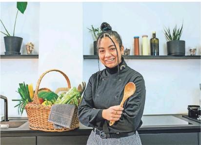 """?? FOTO: FUNK/ANNIKA WOLTER ?? """"Rosa kocht grün"""" ist ein Teil von Funk, einem Netzwerk von ARD und ZDF, das Inhalte für Jugendliche und junge Erwachsene produziert."""