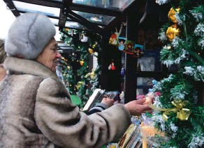 ??  ?? С 14 декабря на Трёхсвятской будет работать Рождественская ярмарка.