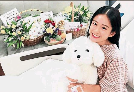 ?? — Instagram ?? Leong takes to Instagram to thank her fans for their well wishes.