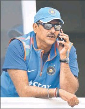 ??  ?? Ravi Shastri has struck the right chord with administrators.