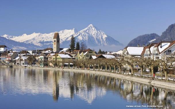??  ?? Interlaken old town. Photo: © Interlaken Tourism