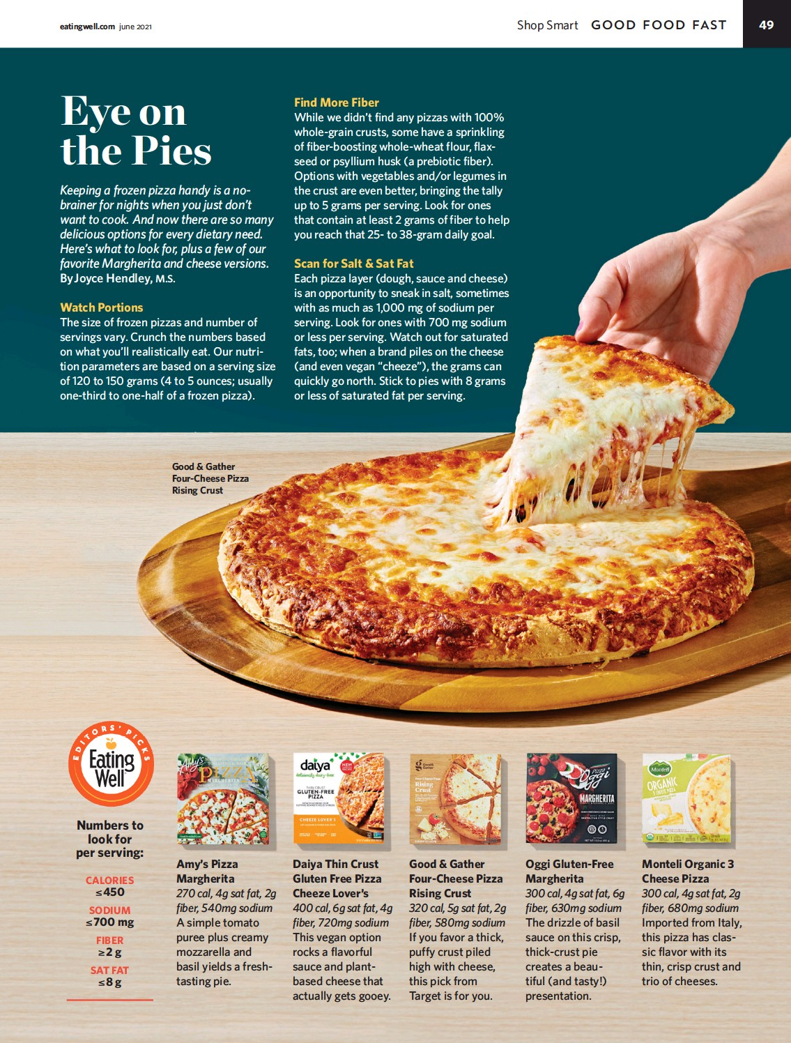 ??  ?? Good & Gather Four-cheese Pizza Rising Crust