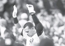 ?? KATHY WILLENS/ASSOCIATED PRESS ?? Alex Rodriguez ended up on the Yankees after three seasons with the Rangers. He signed a second huge deal with New York in 2007.