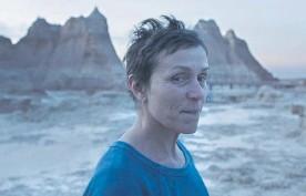 ??  ?? Frances McDormand stars in Nomadland.