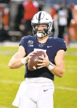 ?? REEGER/AP BARRY ?? Penn State quarterback Will Levis played well during the final twoplus quarters against Nebraska last weekend. He finished 14for-31 passing for 219 yards and added 61 rushing yards.