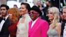 ?? Tahar Rahim ?? Spike Lee, jury president of the 74th Cannes Film Festival, and jury members (from left) Jessica Hausner, Melanie Laurent, Maggie Gyllenhaal, Mylene Farmer and