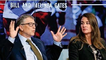 ?? REUTERS ?? Bill und Melinda Gates sind seit 1994 verheiratet – Anfang Mai haben sie das Aus bekannt gegeben.